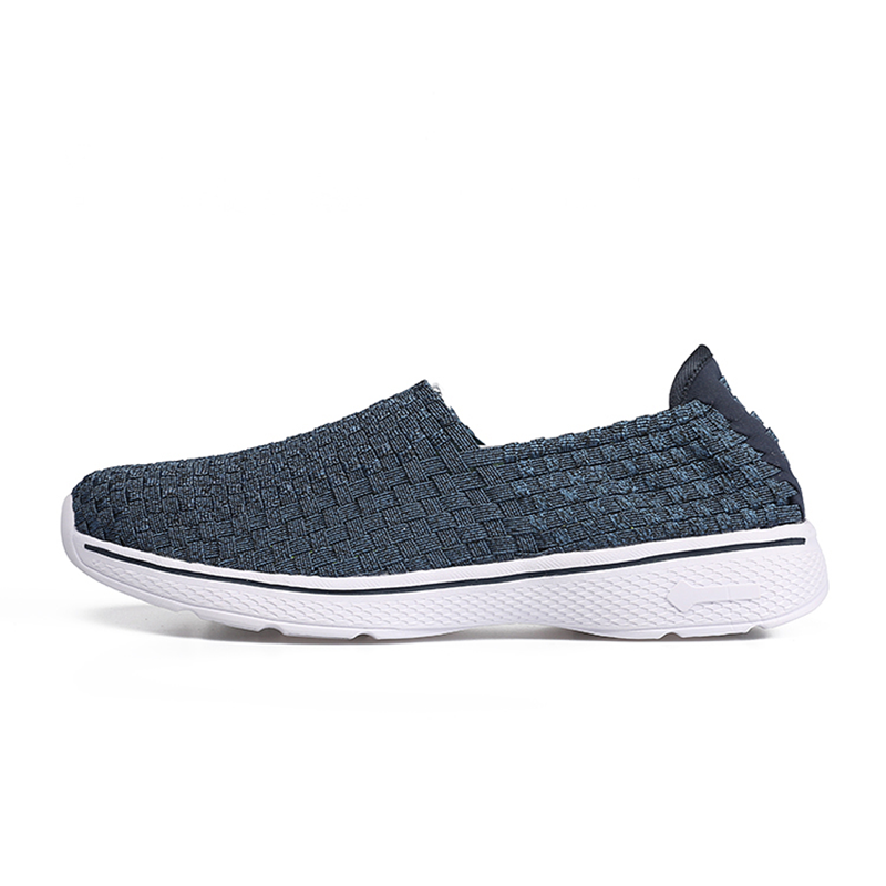 New High Quality Breathable Knit Weave Fashion & Entertainment Men - Men's Shoes