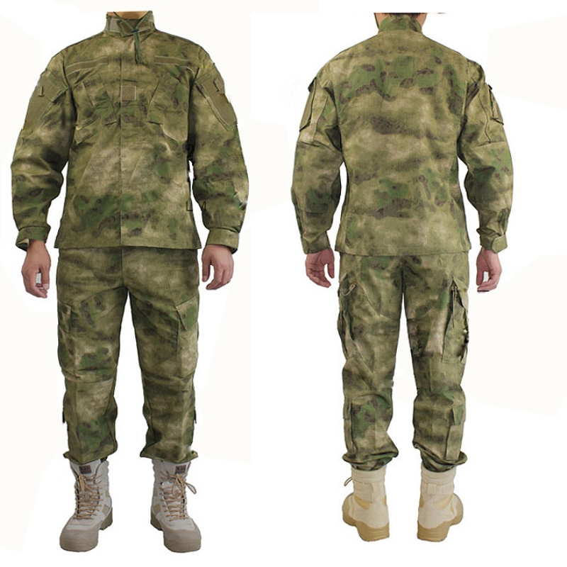 A-tacs FG AT Camouflage New Arrival Inspired Military Tactical Hunting American Training Uniform Camouflage Ver5 Suits Clothes a tacs fg military uniform combat a tacs uniform bdu military uniform for hunting wargame coat pants