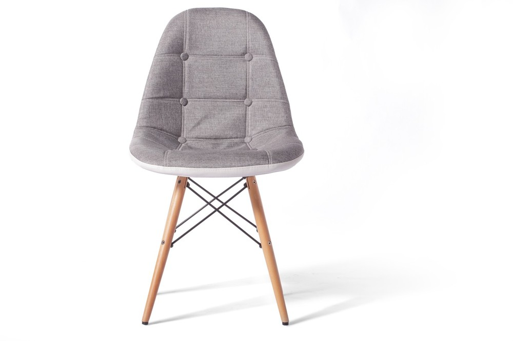 Cheap Eames Denim Linen Cloth Computer Parlor Chair Solid Wood Legs Leisure Office  Chair Ikea Minimalist Style In Shampoo Chairs From Furniture On ...