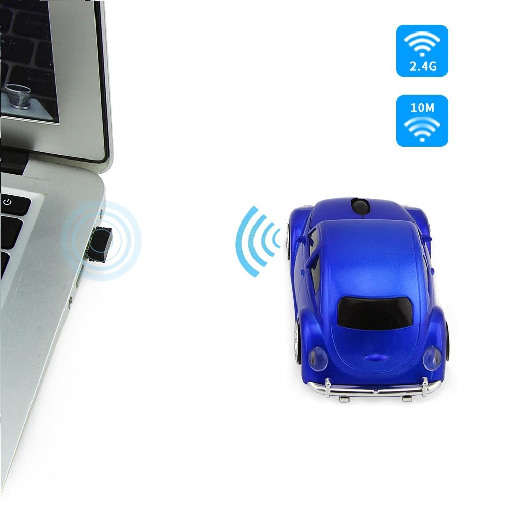 3D Xmas USB optikai vezeték nélküli egér VW Beetle Car Shape - Számítógép-perifériák - Fénykép 5