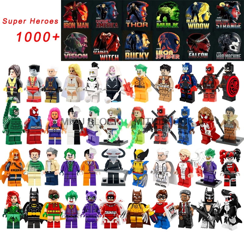 450fc27e MITU BLOCK Batman Building Blocks Deadpool Legoinglys Toys