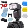 Meike mk-910 2.el mk910 i-ttl 1/8000 s sincronización hss master & slave flash speedlight para nikon sb-910 sb-900 d7100 d800 d600 d750 DSLR