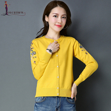 Sweater Women Time-limited Cardigan Lady 2018 Spring New Solid Color Slim Knit Autumn Casual Coat N204