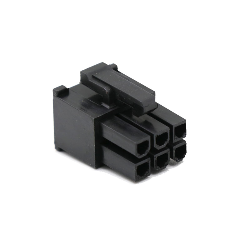Angitu 4.2mm 6Pin PCI-E Cable Male Connector Housing Cable Female Connector