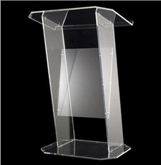 Clear Acrylic Church Pulpit Modern Clear Acrylic Perspex Lectern Podium Church Pulpit free shipping organic glass pulpit church acrylic pulpit of the church