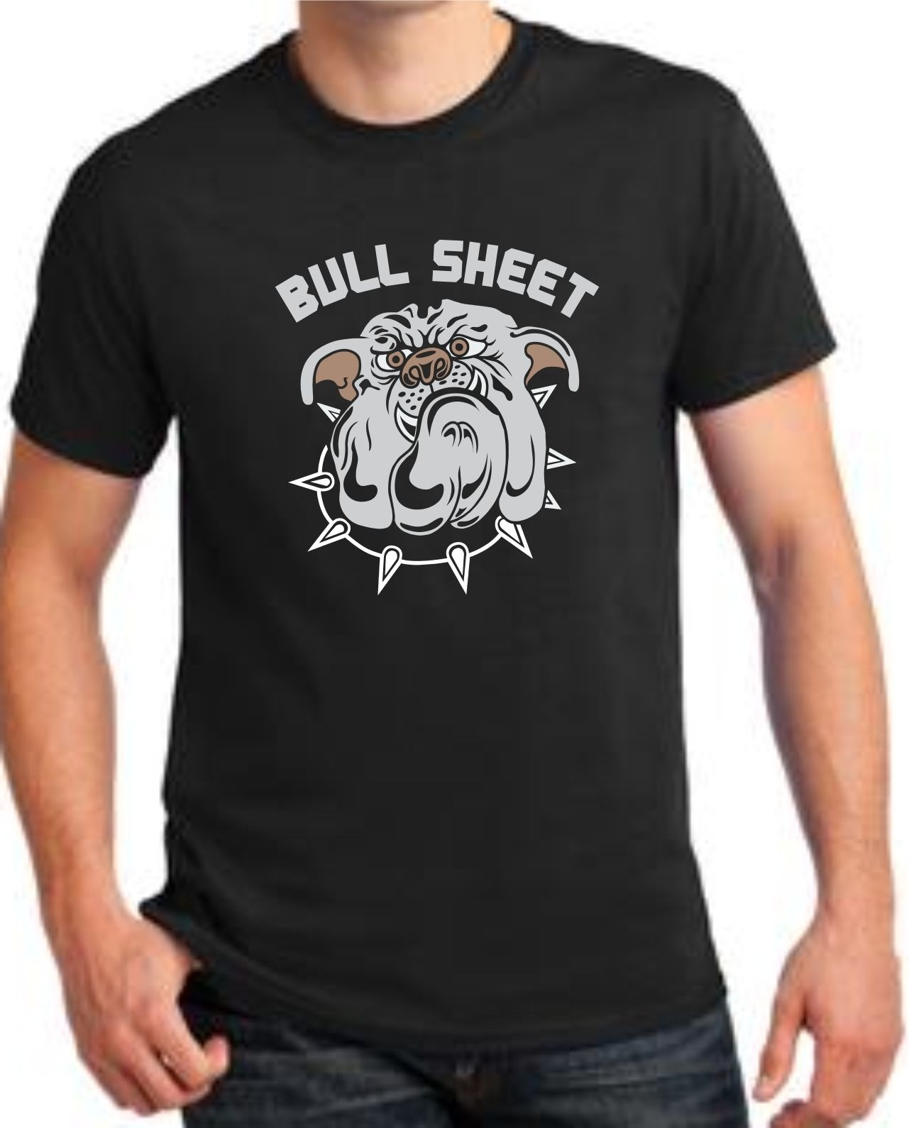 Design t shirt games online - Online T Shirts Design O Neck Short Bull Dog Bull Sheet Graphic Funny Mens T Shirt