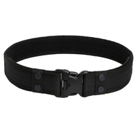 2019 Combat 2 Inch Canvas Duty Tactical Sport Belt with Plastic Buckle Army Military Adjustable Outdoor Fan Hook  Loop Waistband