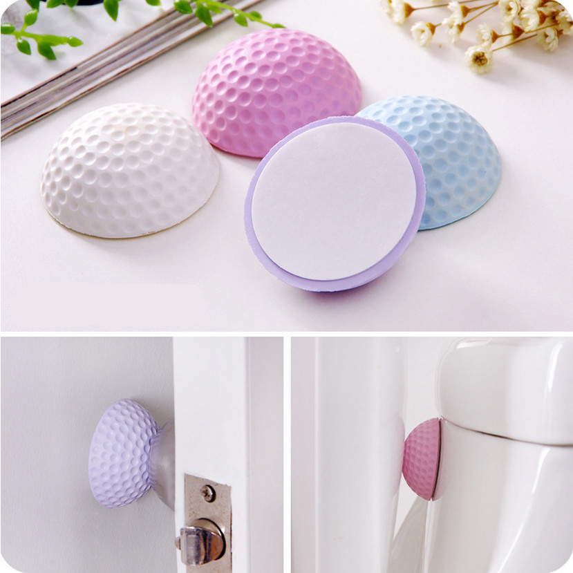 Mute Wall Pad Anti-collision Crash Pad Doorknob Lock Protective Pad Crash Pads Door Buffer furniture door lock