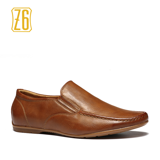 Z6 Brand men flats 39-44 driving comfortable soft handmade  men loafers #W3173