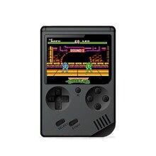 مصغرة الرجعية الكلاسيكية لعبة الفيديو المحمولة 168 لعبة وحدة التحكم 3 بوصة 8 بت الألعاب وحدة التحكم مع 168 ألعاب مجانية
