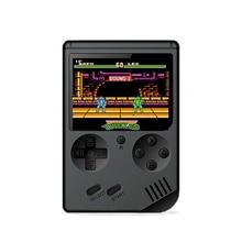 Mini retro klasik oyun el video 168 oyun konsolu 3 inç 8 bit oyun konsolu ile 168 ücretsiz oyunlar
