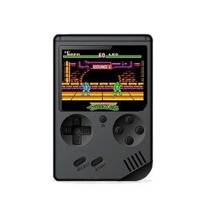 Image 1 - Mini retro klasik oyun el video 168 oyun konsolu 3 inç 8 bit oyun konsolu ile 168 ücretsiz oyunlar