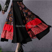 Free Shipping Fashion Long Ballroom Dance Belly Dance Skirt Women Adult Lady Long Gypsy Skirts Costume Gypsy Clothing