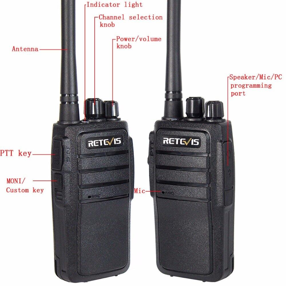 10kom Walkie Talkie Retevis RT21 UHF 400-480MHz 2.5W 16 kanala - Voki-toki - Foto 4