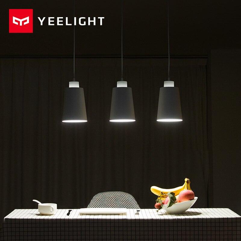 Оригинальный xiaomi YEELIGHT огни Обеденная современный ресторан Кофе Спальня освещения E27 держатель для xiaomi умный дом