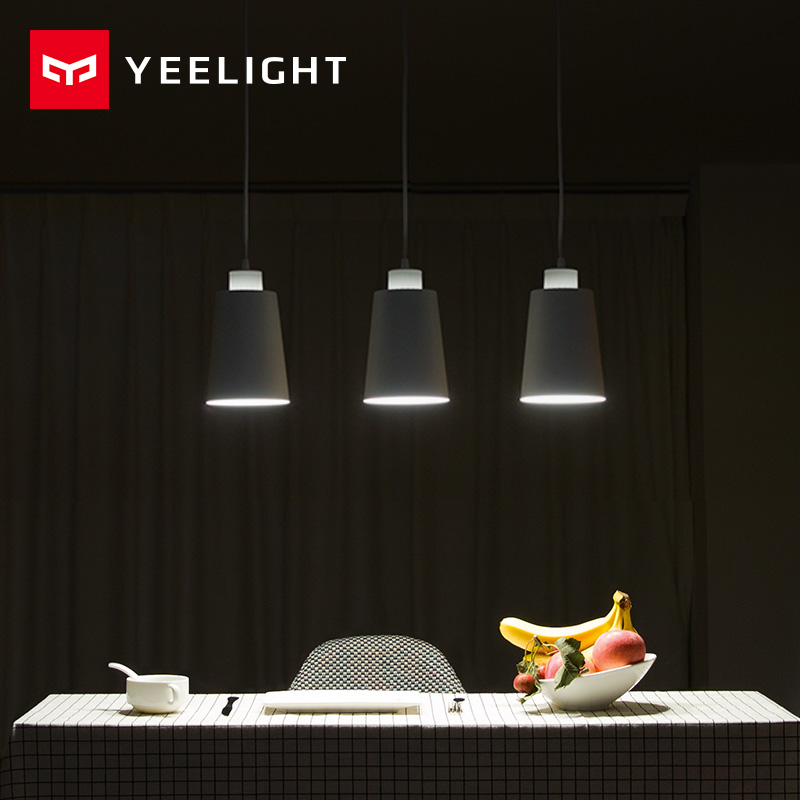 Originale Xiaomi YEELIGHT Luci Sala da pranzo Moderna Ristorante Caffè Camera Da Letto Illuminazione E27 Supporto Per xiaomi smart home
