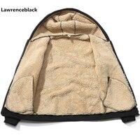 Brand Wool hoodies men 2019 Hoodie Zipper Solid Color Hoody Men Fashion Tracksuit Male Sweatshirt Fleece Hoody Mens M 4XL 965