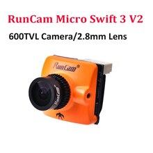 Runcam Micro Swift 3 V2 600TVL CCD Mini FPV Camera 2.1mm PAL/NTSC OSD Configurat