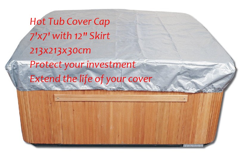 Spa Cover Cap 7'x7' with 12 Skirt 213x213x30CM hot tub jacket + free shipping + hot sale + Cheap Cost lx h30 rs1 3kw hot tub spa bathtub heater