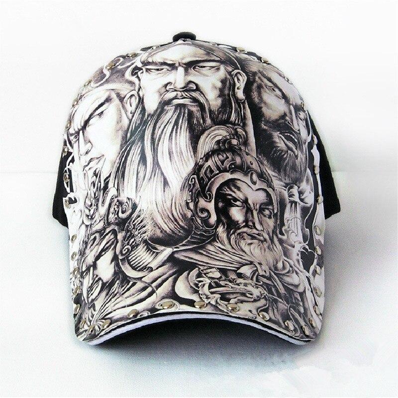 Original 3D printing Chinese style Generals guan yu Japanese god Baseball Cap men WOMEN Fashion Snapback cap Hip Hop Hat