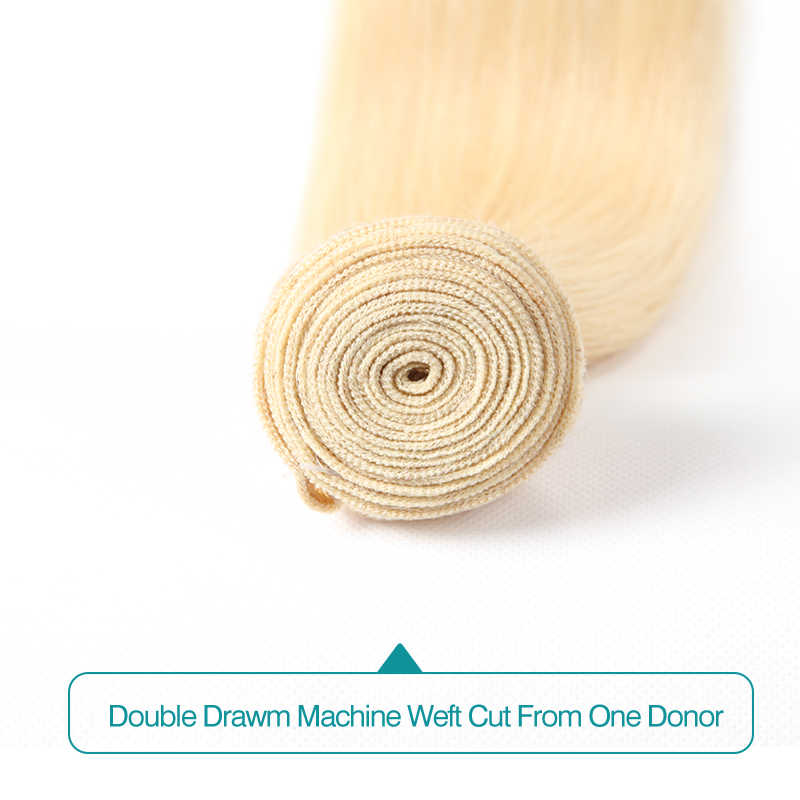 עלי FumiQueen 1/3/4 Pcs רמי שיער Weave חבילות 4 #/בורג/99J/27 #/33 #/30 #/בלונד 613 ברזילאי ישר מראש בצבע שיער טבעי