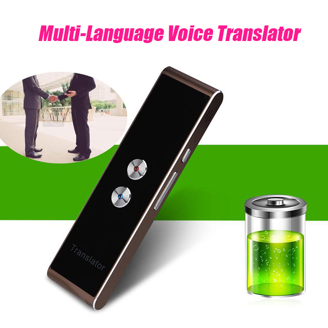 Portable Smart Voice Translator for Travel