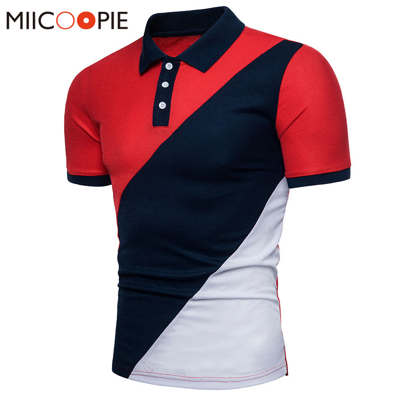 Summer Brand Men   Polo   Shirt Casual Cotton   Polo   Contrast Color Slim Fit   Polo   Shirts Male Top Casual Camisas Masculinas XXL