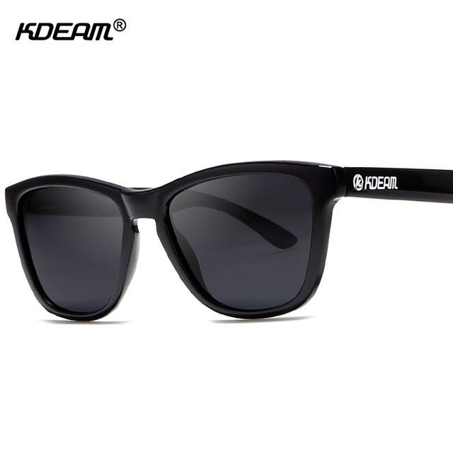 4a63b9b1879 KDEAM Superior Polarized Sunglasses Men Women Gradient Crystal Sun Glasses  Lightweight Goggles With Skull Peanut Box