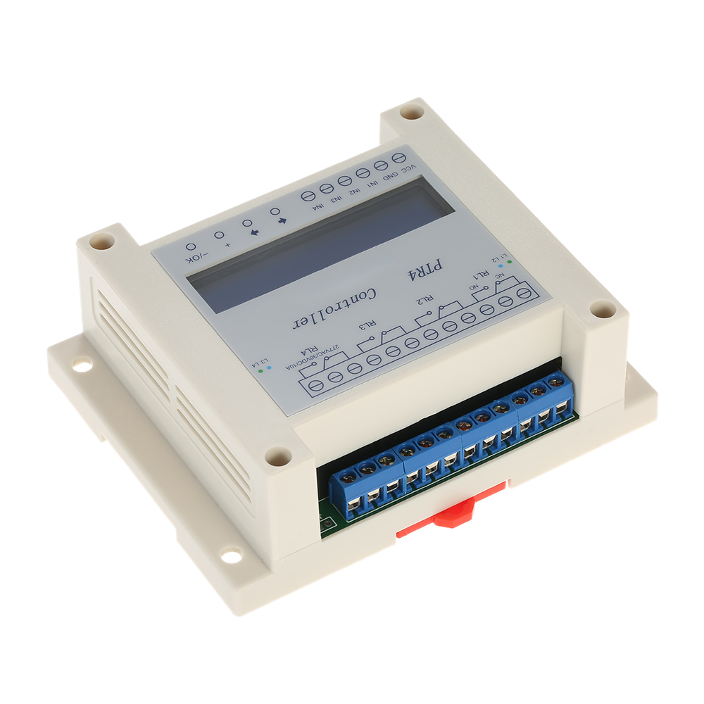 Dc6 40v 4 Channel Programmable Digital Time Relay Timer