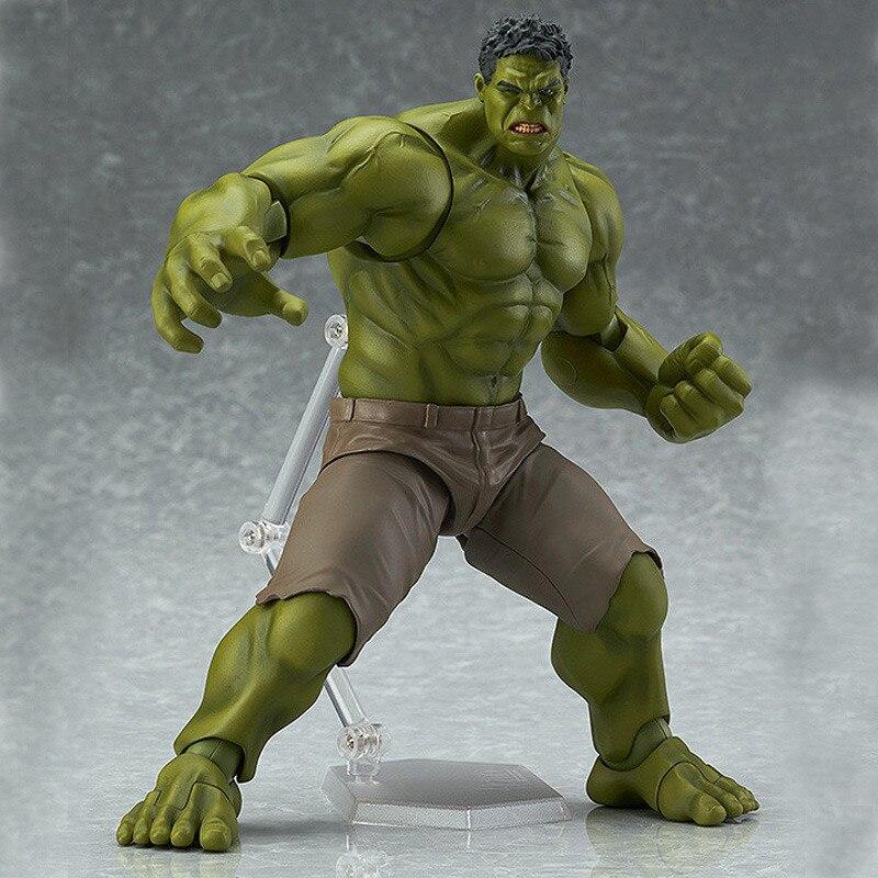 <font><b>Avengers</b></font> <font><b>Hulk</b></font> <font><b>Figma</b></font> <font><b>271</b></font> <font><b>PVC</b></font> Action <font><b>Figure</b></font> Collectible Model Toy 19cm