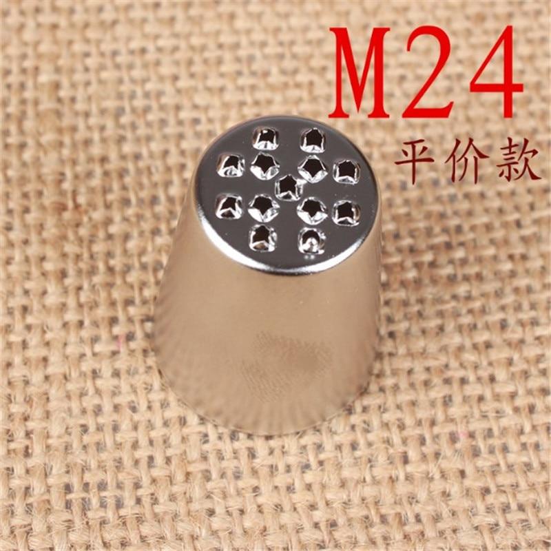 M24 1pc Creative Grass Icing Nozzle Piping Tips Sugarcraft Cream Cake Cupcake Decorating Tool Cake Decoration