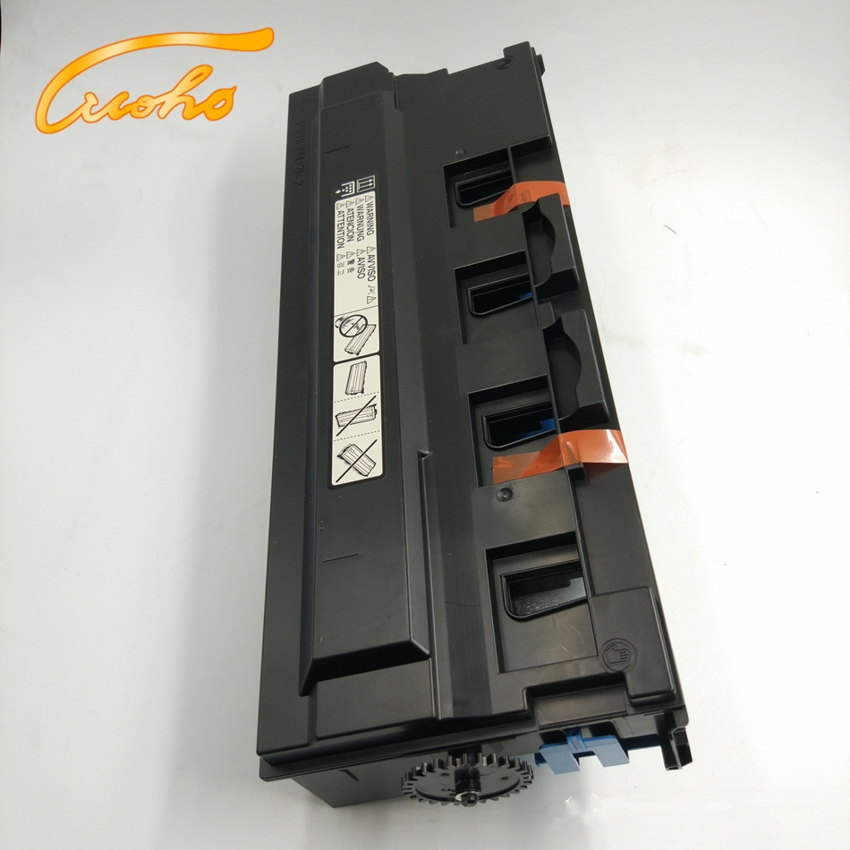 Bizhub C224 Waste Toner Container for Konica Minolta C284 C364 C454 C554 C221 C284e C224e C364e waste toner box WX103 compatible transfer belt for konica minolta bizhub c224 c224e c284 c284e c364 c364e c454 c554 transfer belt