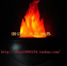 БЕСПЛАТНАЯ ДОСТАВКА 3 ШТ. Пламя лампы электронный ямы огня ямы огня подвесной светильник 7