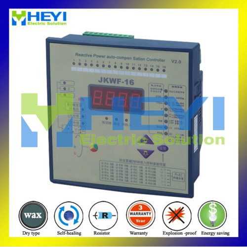 tahmeed aijaz reactive distillation Reactive power automatic compensation controller JKWF-16 16steps 220V reactive power compensation controller