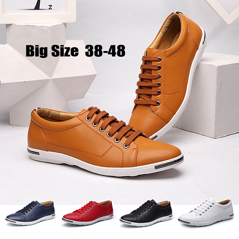 big men shoes casual shoes fashion 38-48 men loafers luxury leather Lace-Up flat driving shoes men 5 color optional In 2017, the fashion tassels ornament leopard pattern flat shoes loafers shoes black leopard pair size 38