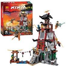 Bela 10528 Ninjagoes Town Battle Castle Ninja Bricks Toy Minifigures Building Block Minifigure Compatible with legoe