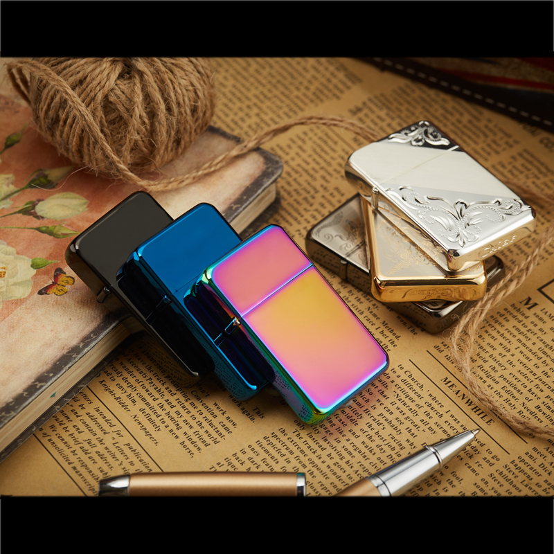 US $10 6 47% OFF|Brass Chief Lighter For Cigarette Smoking Gasoline Flint  Fire Petrol Lighter Oil Kerosene Refillable-in Cigarette Accessories from