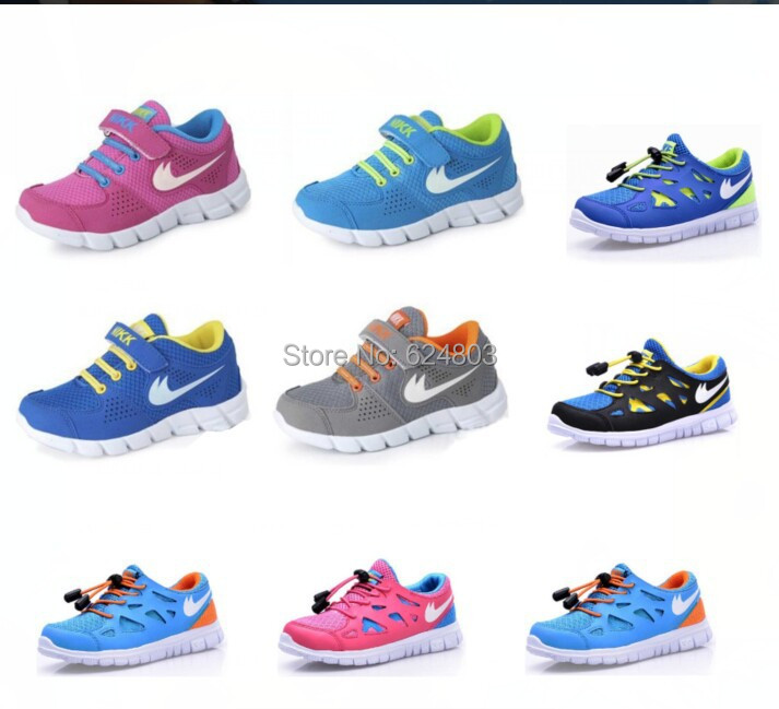 9 Color Children Sneakers cheap kids Girls sports shoes Brand Fashion Boys  Kids Running Sport Shoes ...