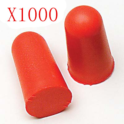 [ Fly Eagle ] 1000pcs X SOFT FOAM EARPLUG RED PROTECTOR EAR PLUGS[ Fly Eagle ] 1000pcs X SOFT FOAM EARPLUG RED PROTECTOR EAR PLUGS