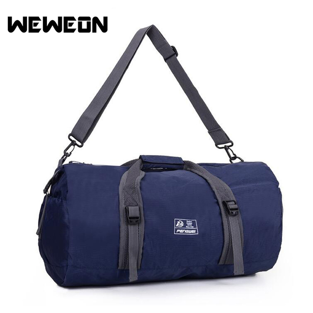 1e38f72a21 Outdoor Travel Duffel Sport Bag Waterproof Fitness Gym Bag Sling Pack  Handbag