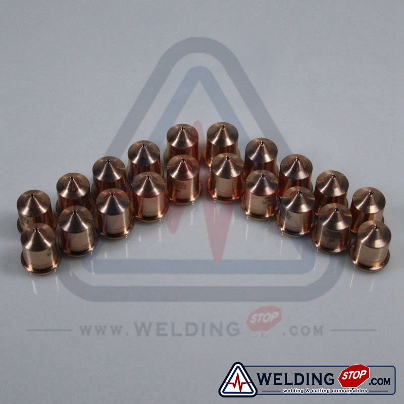 220671 Nozzle 45Amp 20pcs fit in Air Plasma cutter Cutting Torch Consumables PMX 45