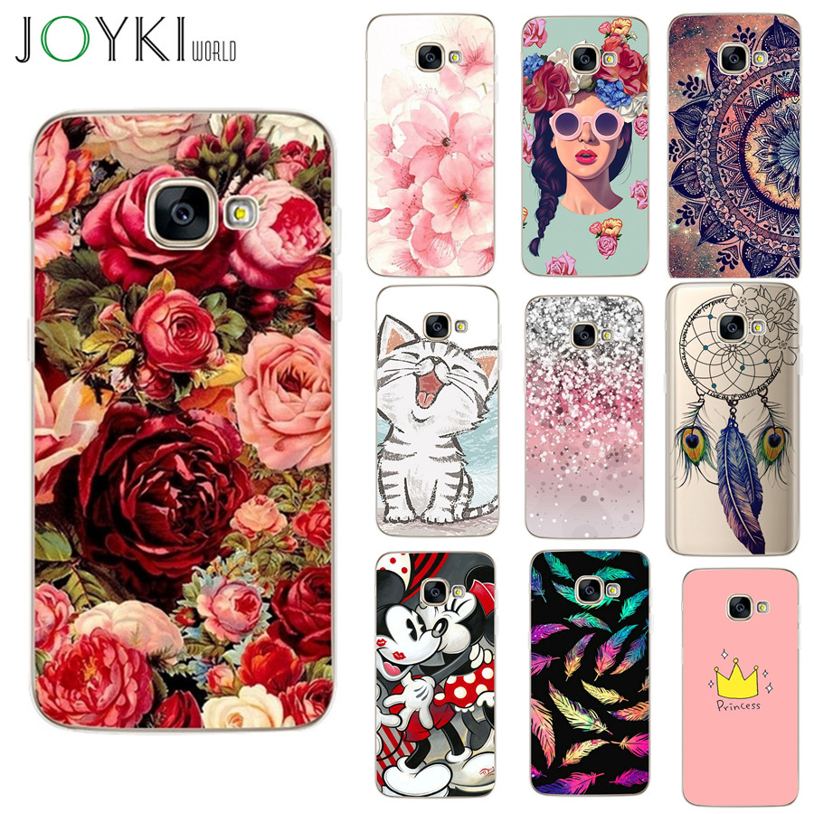 For Samsung Galaxy A5 2017 Case A520F Cover Soft Cat Cartoon Case For Samsung Galaxy J5 2017 J530 A3 J5 2016 Cases image