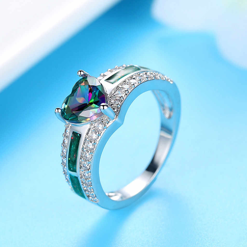 Girl ring Hot Fashion Rhinestone Decorative Ring for Lovers' Fashion Toe Rings  for Man or Woman Gift Elegant Temperament#5