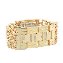 GLE&VDO Fashion Relogio Feminino Dourado Women Girl Bracelet Watch Orologio Quartz Wristatches Gift Box Free Ship
