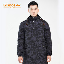Free Shipping-NEW Laynos Men Autumn/Winter Outdoor Mountaineering 3in1 Camouflage Mid-long Slim Fleece Lovers Jackets 170A513A(China)