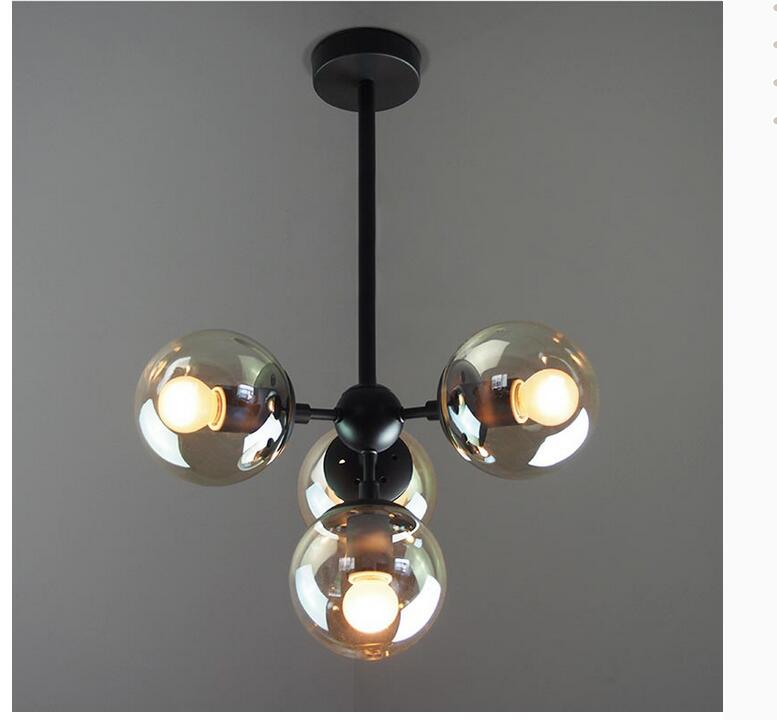 Free Shipping Northern Europe Pendant Lamp Nordic Vintage Lighting Black Color Pendant Light E27 AC 90