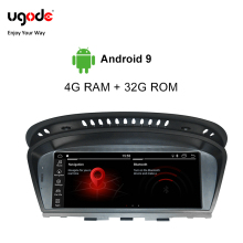 Ugode Android 9.0 For BMW 3 Series 5 E60 E90 Car Multimedia Player Screen Monitor GPS Navigation