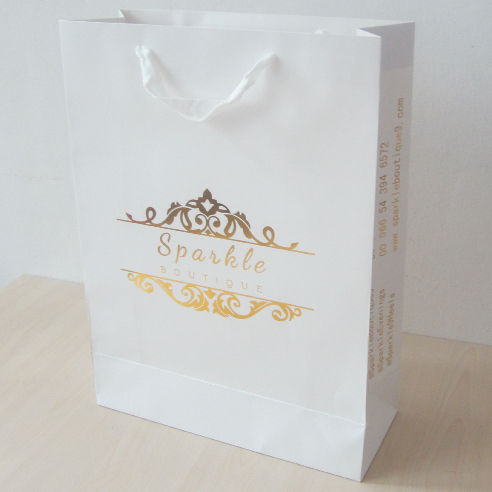Buy luxury paper bag gold and get free shipping on AliExpress.com 7e5ce015e633