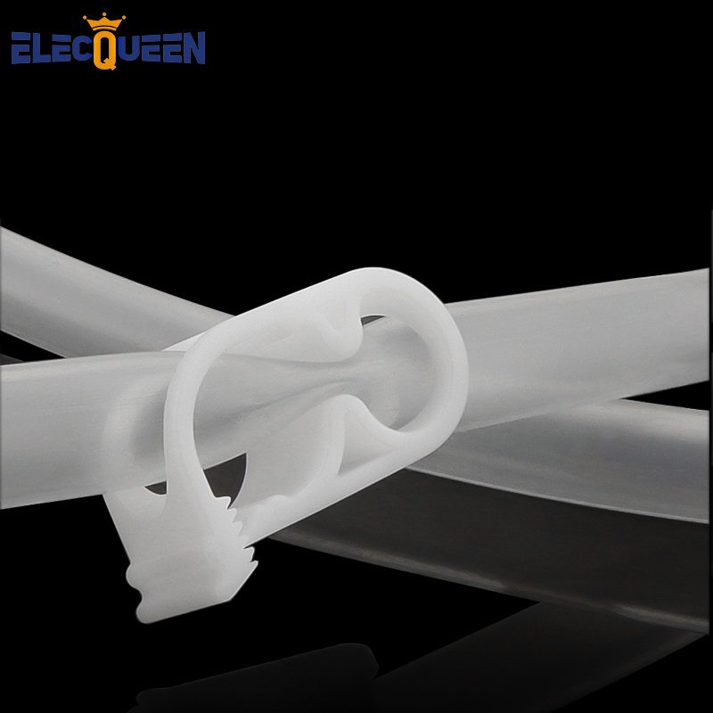 Siphon Tube Clamp,Home Brew Silicone Tube Clip,Flow Control Pipe Valve Wine Beer Making Clamp Holder 2 Pcs/lot