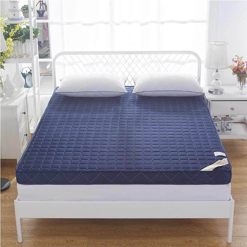 Style Of Knitted memory foam mattress high density thickening anti skid single double four seasons folding bed mattress bed product in Mattresses from Furniture Inspirational - Modern best memory foam bed Top Design